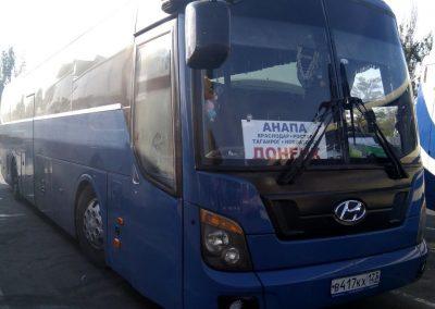 Автобус Донецк Краснодар Анапа